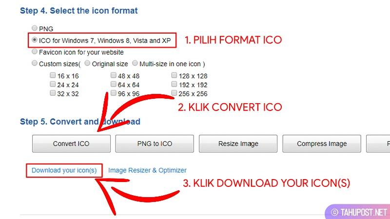 Pilih Format dan Unduh Icon Folder