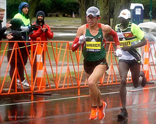 BOSTON MARATHON ~ APRIL 16, 2018 It was a cold and rainy day as runners took part in the 122nd running...
