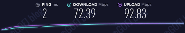 Testing internet connection without ExpressVPN
