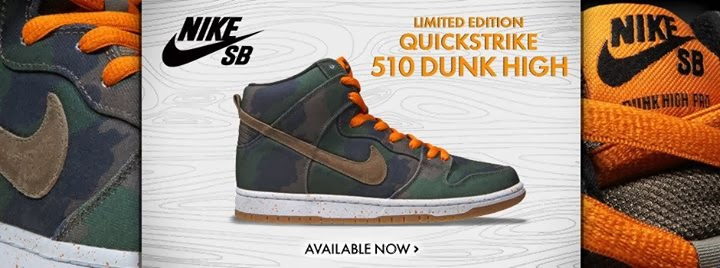 Limited Edition 510 Nike Sb Dunk High Qs Still Available