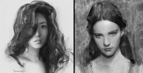 00-Yizheng-Ke-Charcoal-Portrait-Drawing-in-Different-Poses-www-designstack-co