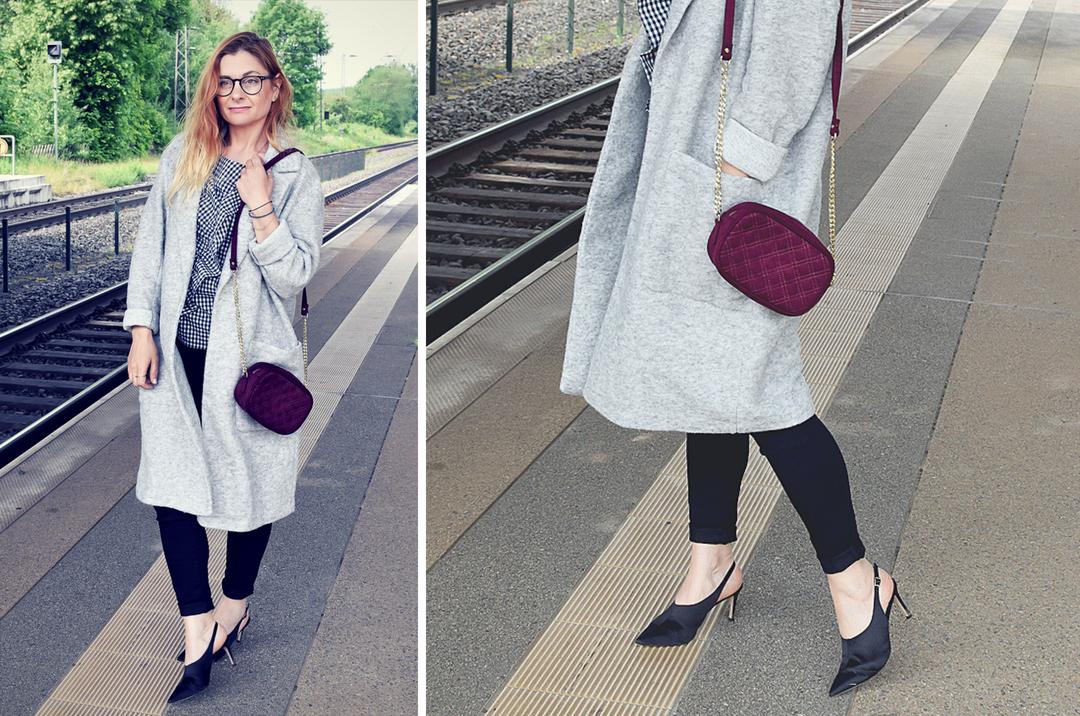 leichter, grauer Sommermantel für Frauen, Modetipps für Frauen über 30 und über 40