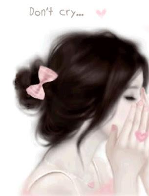 Gambar Anime Korea Menangis Animasi Cantik Dont Cry