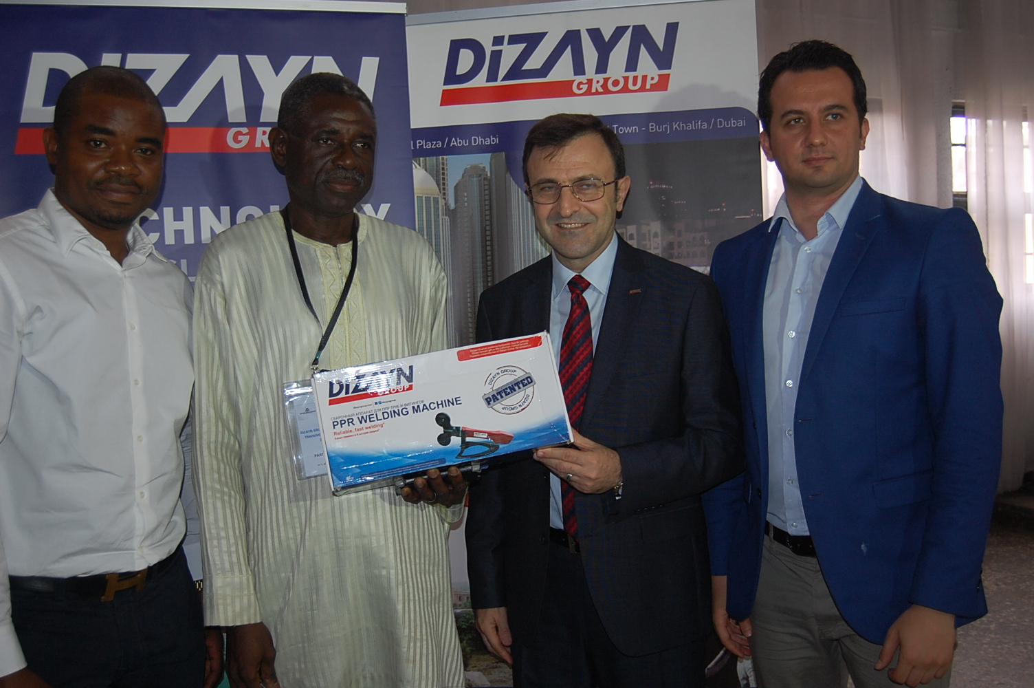 PAEDIA EXPRESS MULTIMEDIA : TECHNICAL TRAINING SESSIONS OF DIZAYN HELD RECENTLY IN LAGOS,NIGERIA