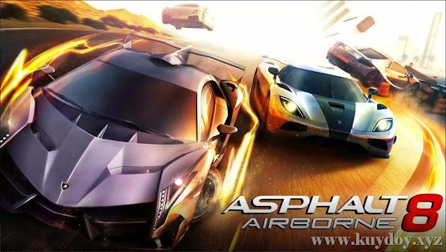 Download Asphalt 8 MOD Apk + Data V3.5.1b + Uang Tanpa Batas