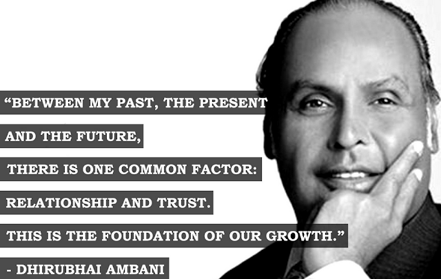 Quote by dhirubhai ambani