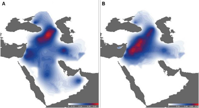New genetics study on Ice Age populations around the Black Sea and the Northern Levant