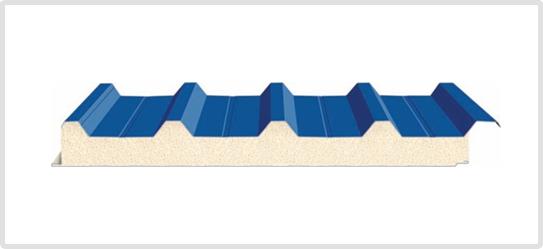 Tôn PU cách nhiệt 4 sóng