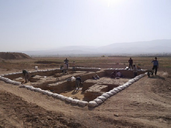 Achaemenid remains discovered in northeastern Iran