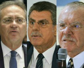 Lava Jato: Autorizada investigação contra Renan, Jucá e Sarney