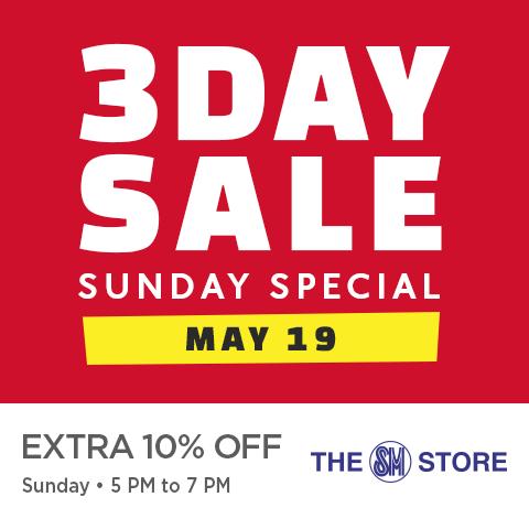 Manila Shopper Sm Malls 3 Day Sale May 17 19 2019