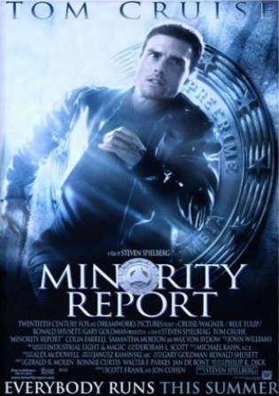 Minority Report (2002) Dual Audio Hindi 450MB BluRay 480p x264 ESubs