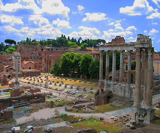 The remains of the Forum of ancient Rome attract some 4.5 million visitors every year