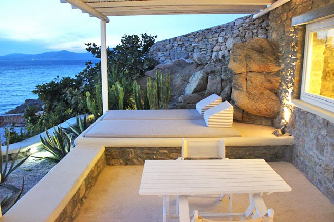 Bill & Coo hotel sobe sa pogledom na more