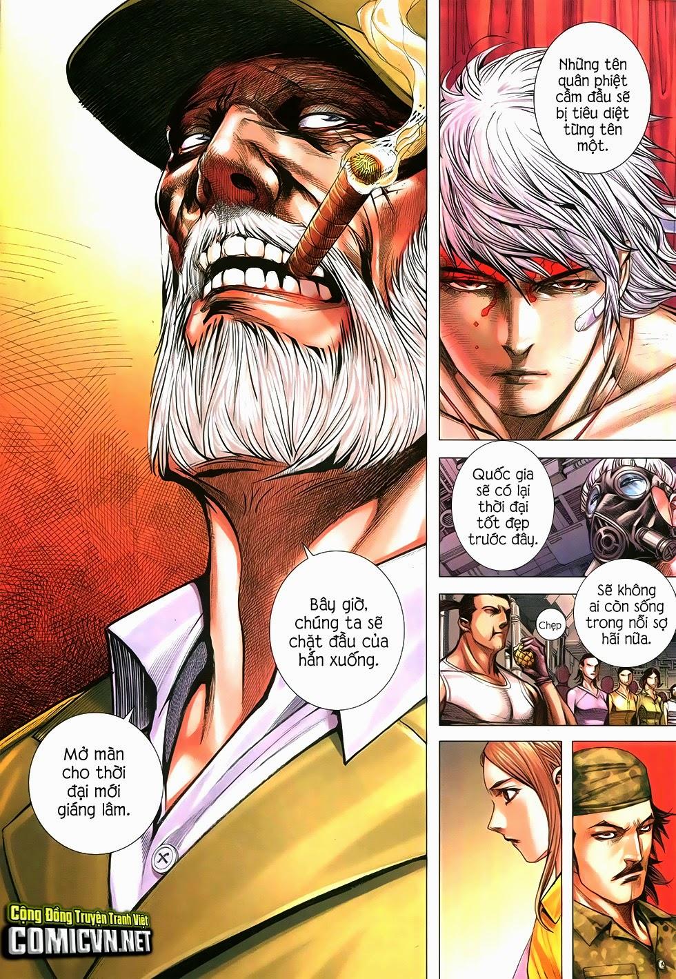 Đại Quân Phiệt chap 12 trang 16