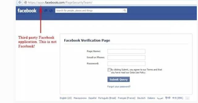 اختراق الفيس بوك اون لاين  باستخدام التصيد