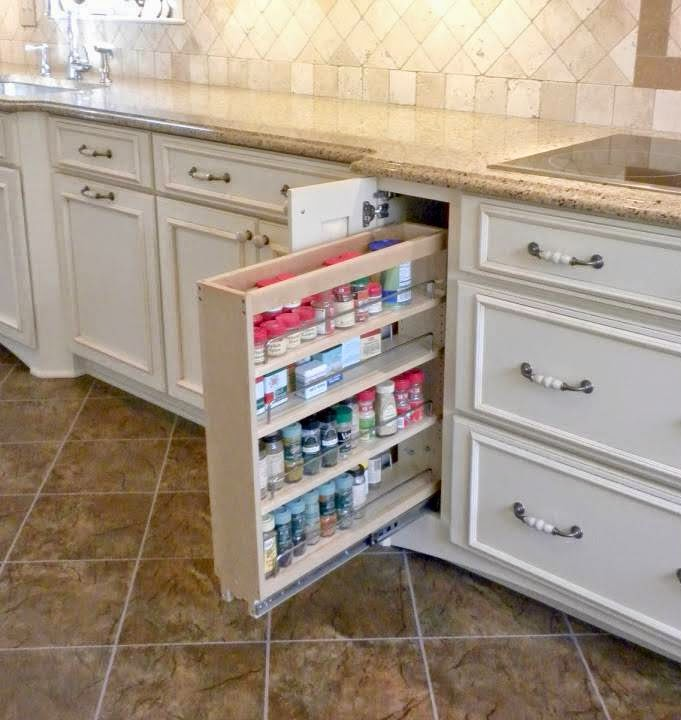 Shelves To Store Spices In Your Kitchen