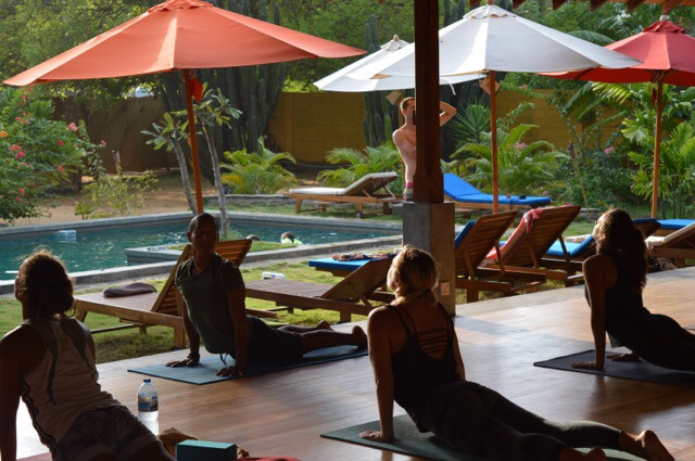 Teaching Yoga and Surfing in Sri Lanka