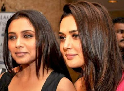 Preity Zinta, Rani Mukherjee, Rani Mukherjee and Prity Zinta, Preity Zinta with Rani Mukherjee