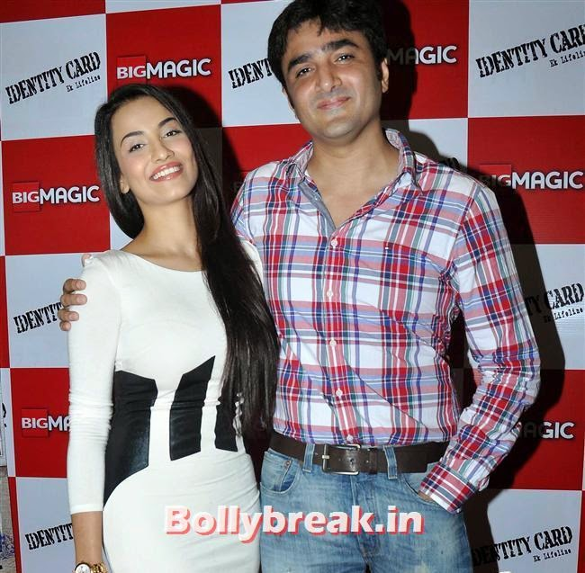 Tia Bajpai and Furqan Merchant, Hot Tia Bajpai at Identity Card Film Trailer Launch