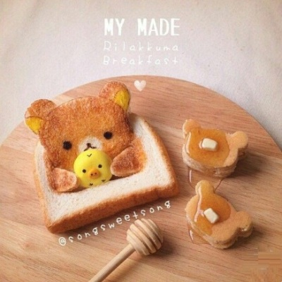 My Made Rilakkuma Breakfast