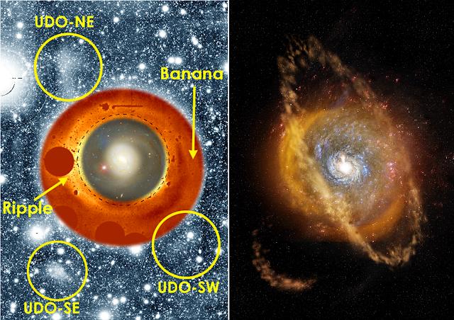 Minor merger kicks supermassive black hole into high gear