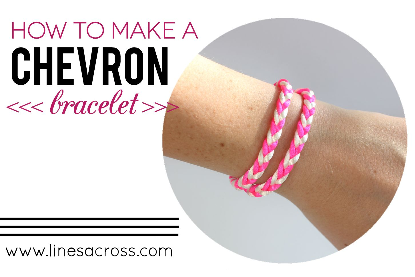 I Realized It S Been A Long Time Since Shared Bracelet Tutorial This Chevron Style Is Fun And Easy To Braid Can Be Turned Into So Many