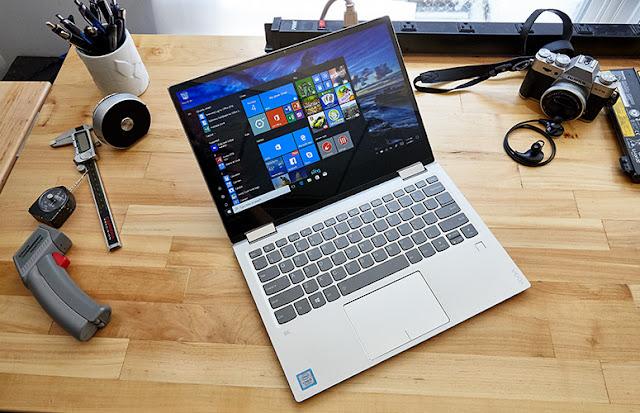 Lenovo Yoga 920, Laptop Convertibel Dengan Segudang Fitur Canggih