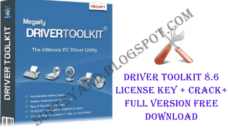 driver toolkit 8.5 + serial key free download