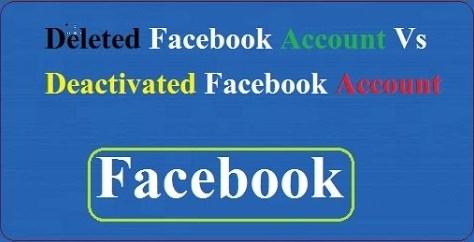 Delete Vs Deactivate Facebook