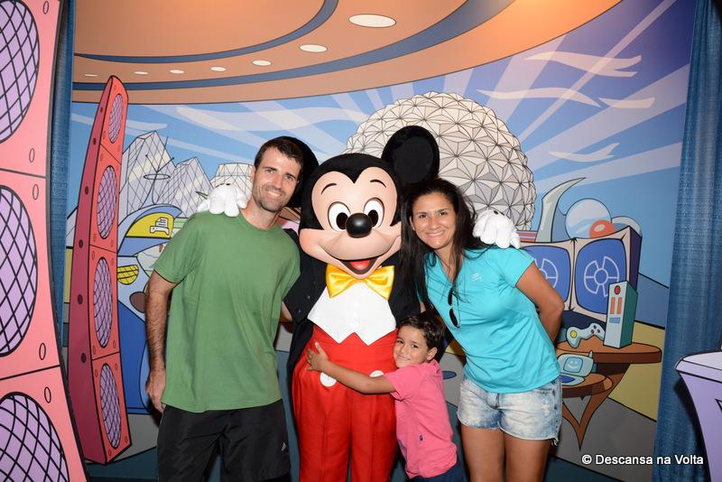 Mickey no Epcot Orlando
