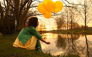 Karmic Debt 13, Numerology, karma, how to deal with karma, girl, baloons, lake, magic