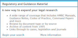 Image of the Regulatory and Guidance Material search box