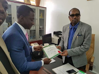 INEC issues Certificate of Return to Uche Ogah as new Governor of Abia State