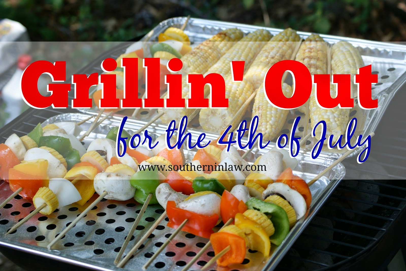 Healthy Fourth of July Menu