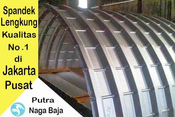 Harga Atap Spandek Lengkung Jakarta Pusat Per Meter dan Per Lembar