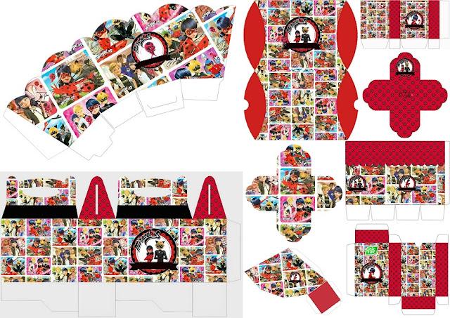 Prodigiosa Ladybug: Cajas para Imprimir Gratis. | Ideas y material ...