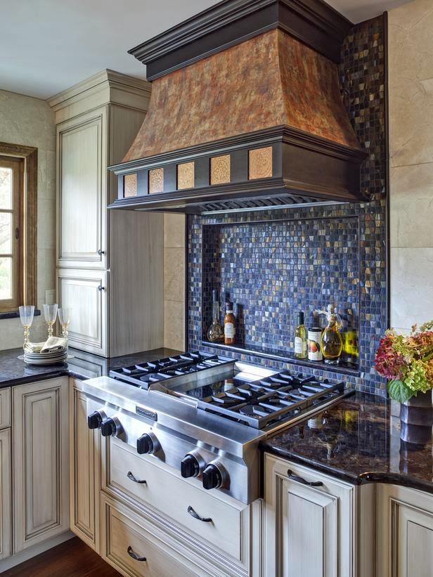 2014 colorful kitchen backsplashes ideas modern - Ideas for backsplash behind stove ...