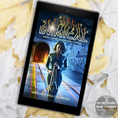 Front cover image of INIMICAL by Genevieve Iseult Eldredge on Kindle device