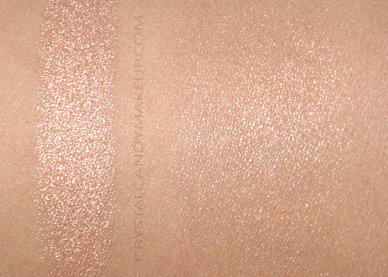 NARS Man Ray Overexposed Glow Highlighter Double Take Swatch