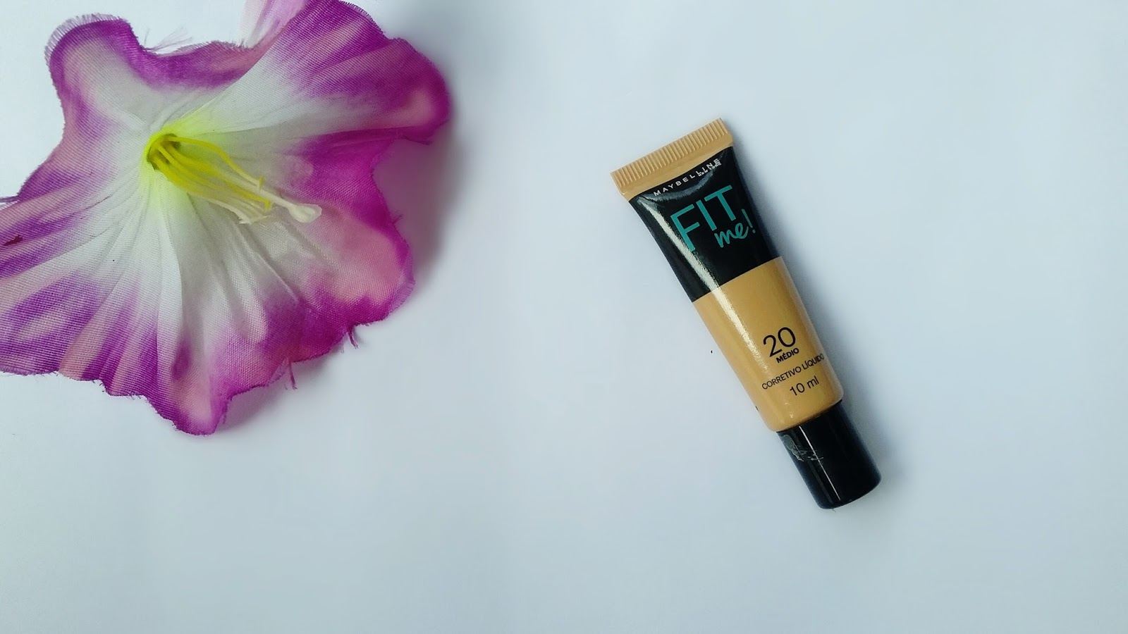 Resenha: Corretivo Líquido Fit Me Maybelline