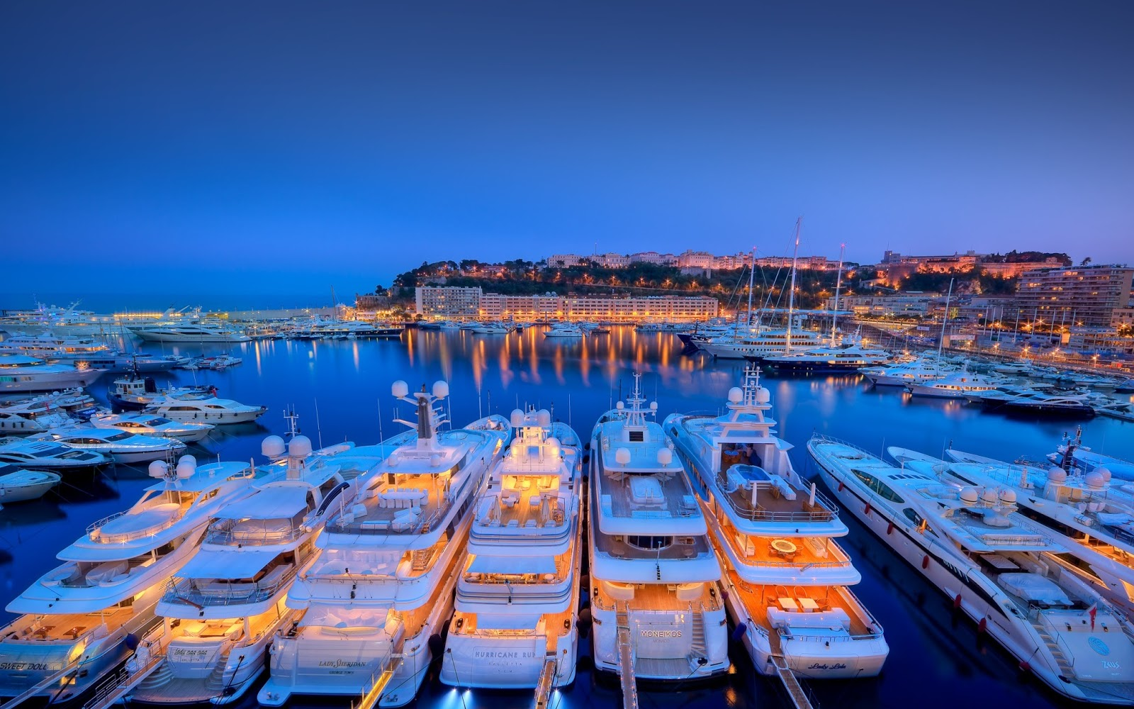 Yachts At Night Yacht Pictures, Luxury...