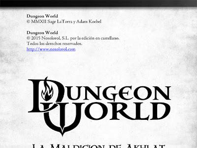 Aventura para Dungeon World - La Maldición de Akhlat en libre descarga