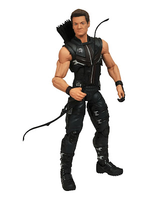 TheBlotSays.com x FigureoftheDay.com Giveaway: The Avengers Movie Hawkeye Marvel Select Action Figure