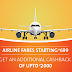Airline Flash Sale - Domestic Flight Tickets Start Rs. 699
