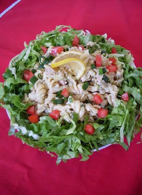 Posna salata sa tunom