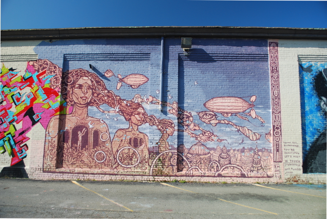 RVA Street Art: The GRTC Bus Depot (Part I)