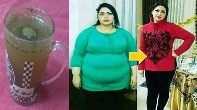 الكوب المغربي العجيب جعل فتاة تخسر أكثر من 15 كيلو في أسبوع رهيب وعجيب نتائجه مضمونة 100%