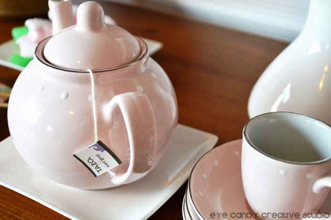tea pot, tea cup and saucer, earl grey, english tea, Tazo earl grey