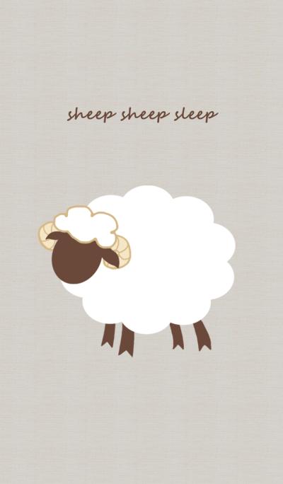sheep sheep sleep